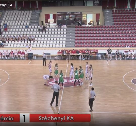 2017-Kadett döntő vasas-Széchenyi KA