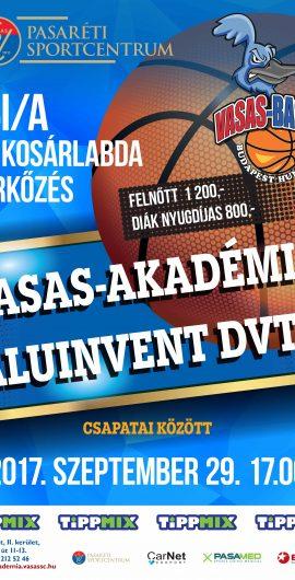 Vasas Akadémia vs DVTK